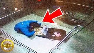 17 เหตุการณ์แปลกๆที่กล้องสามารถบันทึกไว้ได้ (ไม่น่าเชื่อ)