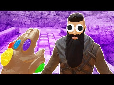I Messed Up Gladiator's Faces with the Infinity Gauntlet in Blade and Sorcery VR!