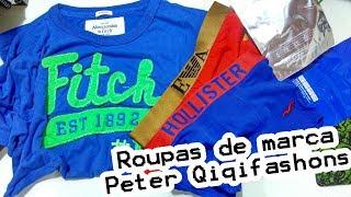 Primeira compra com Peter Qiqifashons - Camisa e cuecas