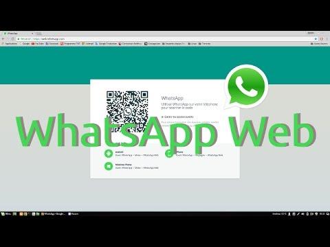 whatsapp Web, pour utiliser l'application sur votre PC ou ...