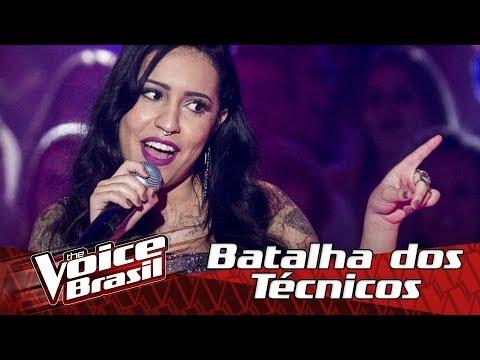 Samantha Ayara canta 'Sorry Not Sorry' na Batalha dos Técnicos – 'The Voice Brasil' | 6ª Temporada