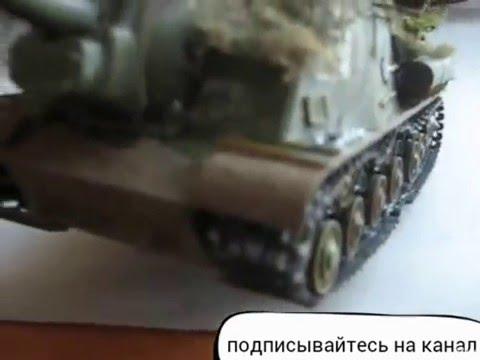 стендовый моделизм итог сборки птсау ИСУ 152 1/35