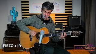 IR CUSTOM FOR ACOUSTIC INSTRUMENT: Stefano Tavernese plays Eko Mia IV 018 guitar