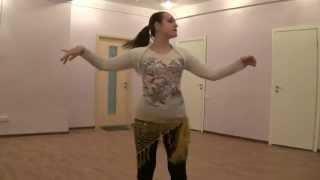 Урок belly dace Тряска - качалка