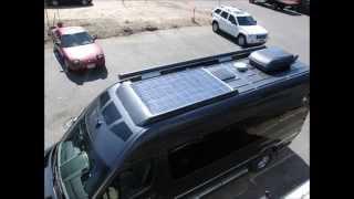 AMAZING!! Solar Powered RV On the 2014 Mercedes Sprinter van - Roadtrek RS Etrek
