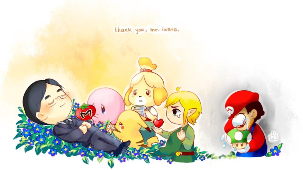 thank you mr iwata