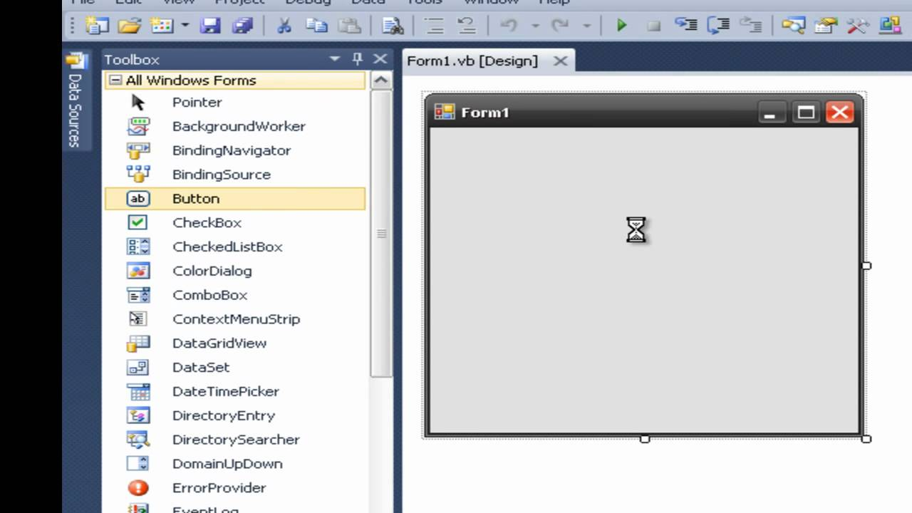 How To Make A Message Box In Visual Basic 2008 2010