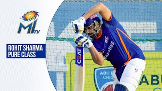 Drives and cuts from Rohit Sharma in the nets | नेट्स में रोहित शर्मा | Dream11 IPL 2020