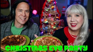 Live: Christmas Eve Party & Snackageddon - Pizza!
