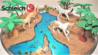 Schleich Horses Magical Forest DIY | Schleich Horses in the Wild DIY