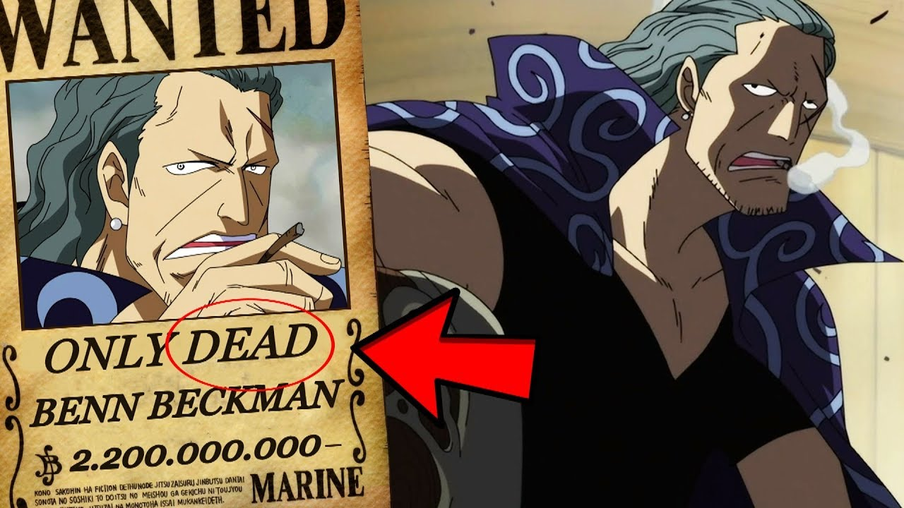 One Piece How Strong Is Benn Beckman The Strongest Commander Youtube