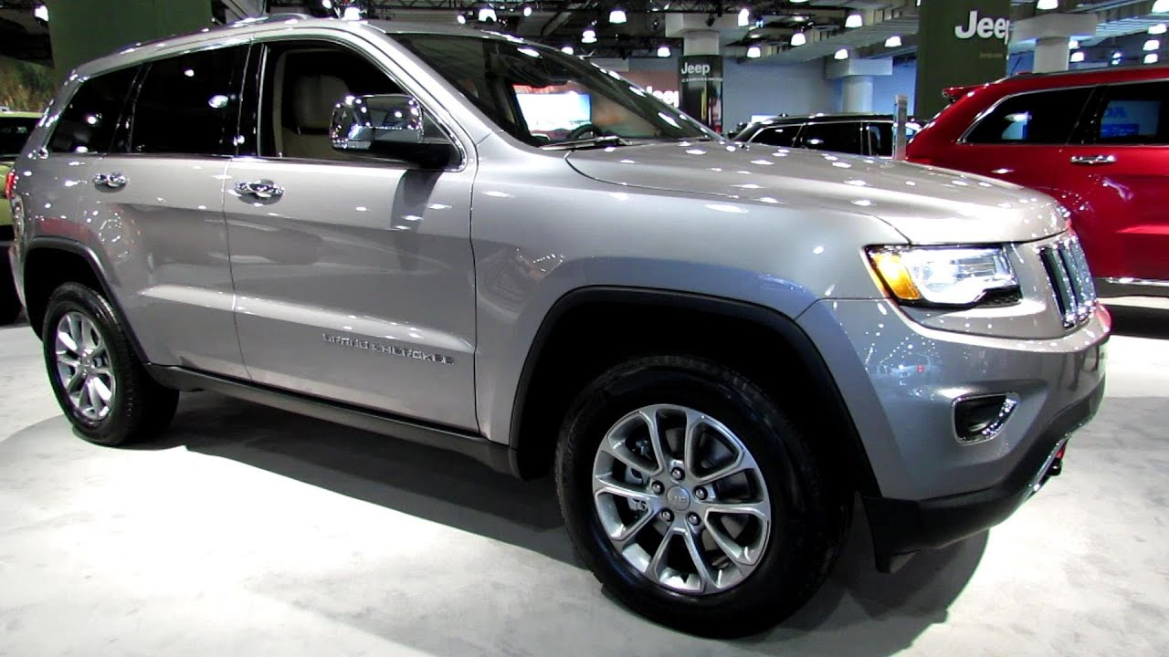 2014 Jeep Grand Cherokee Limited   Exterior And Interior Walkaround   2013  New York Auto Show   YouTube