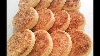 Reteta Harcha - Semolina Bread - الحرشة بالحليب