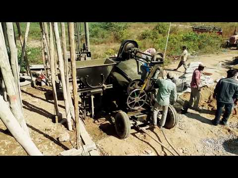 CONCRETE SLAB-POURING-RCC roof-WOMEN at Work-daily wages-Documentary