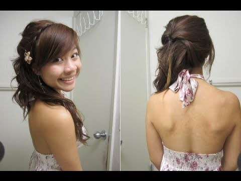 JLovesMac Valentines Day Contest Sweet Romantic Side Ponytail - Hairstyle for valentine's dance