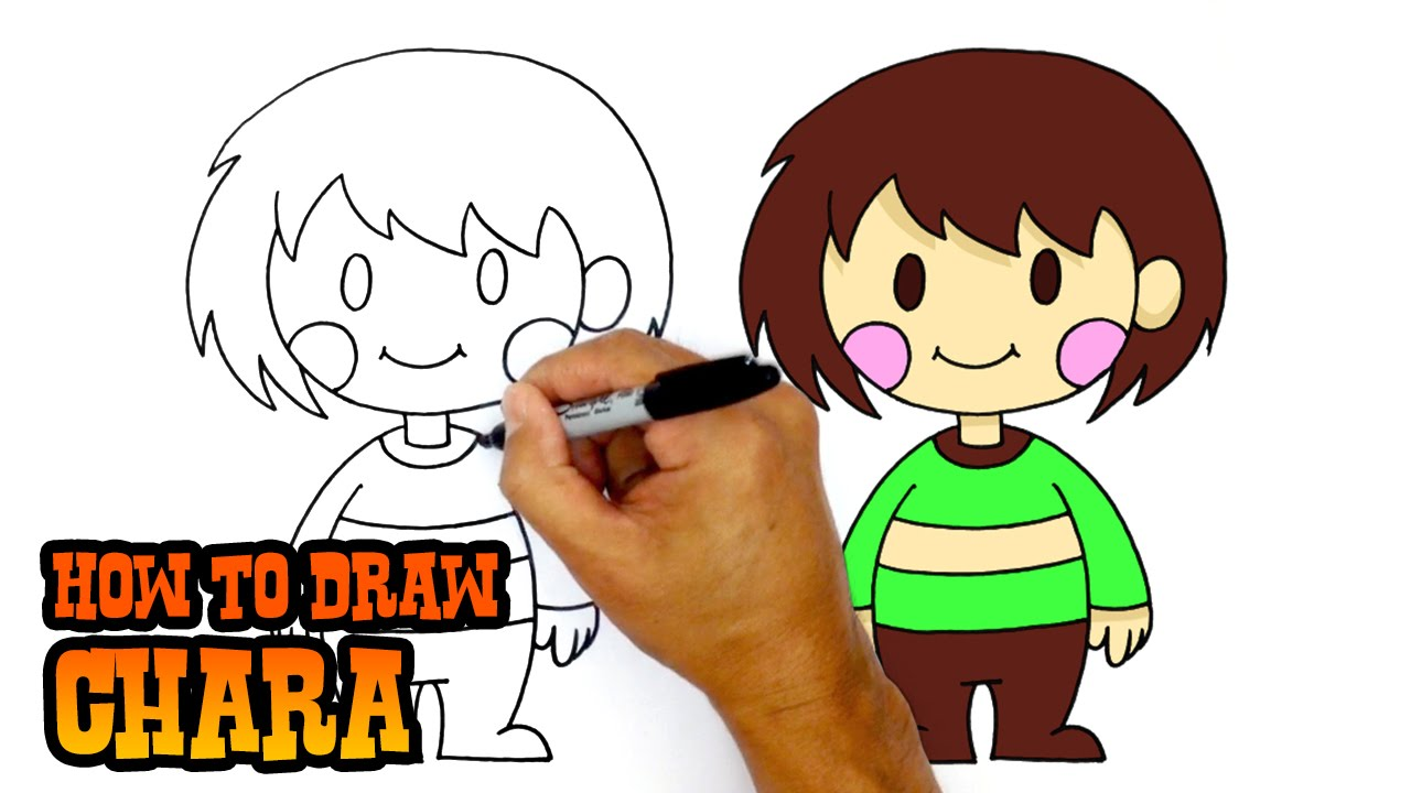 Learn How to Draw Frisk from Undertale (Undertale) Step by ...
