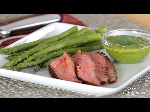 Chili-Rubbed Steak With Chimichurri Recipe