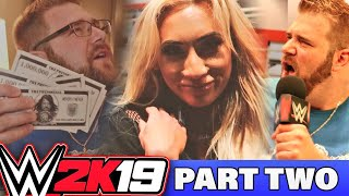 WWE 2k19 Youtuber Event at WWE Performance Center - Carmella, Samoa Joe and More