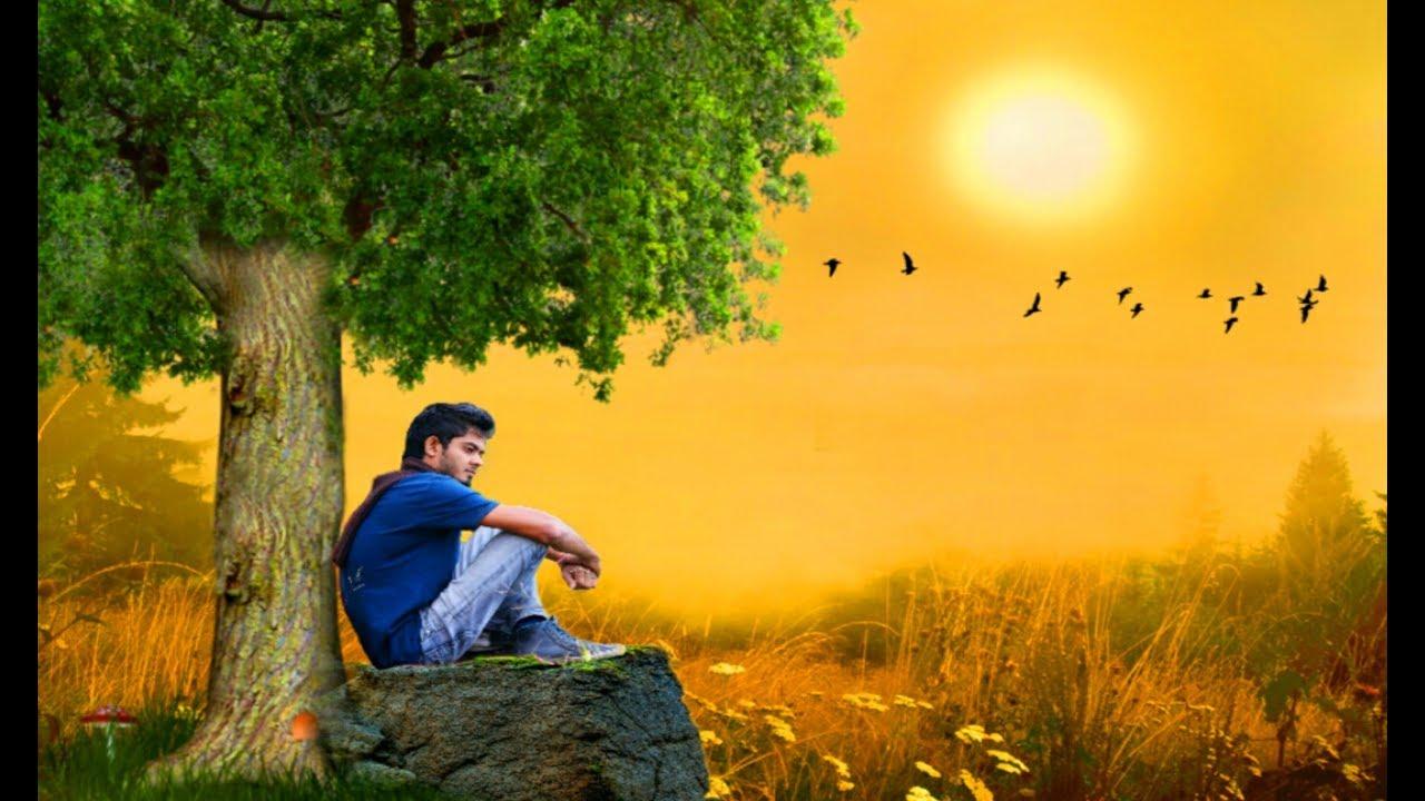 Sad boy photo editz alone boy photography picsart ghamgeen dukhi editz