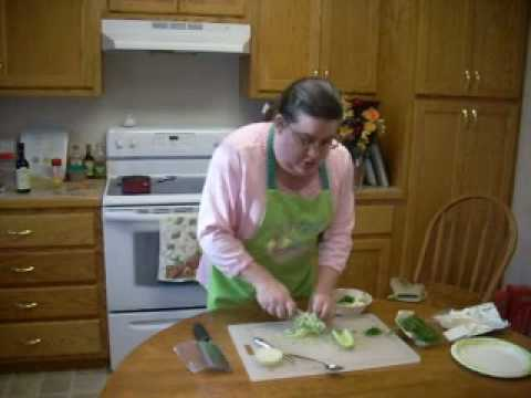 Poached Salmon with a Quick Cucumber Dill Sauce.wmv