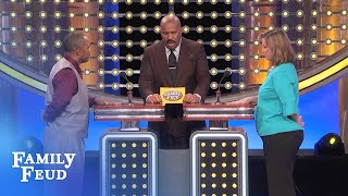 Breaking news! Guess who Santa Claus ran off with?   Family Feud