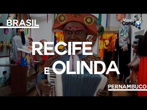 RECIFE E OLINDA - PERNAMBUCO   VIAJE COMIGO 155   FAMÍLIA GOLDSCHMIDT