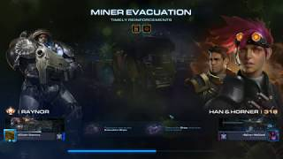 StarCraft 2 Co-Op Mutation 194 - Timely Reinforcements Raynor (BIO)