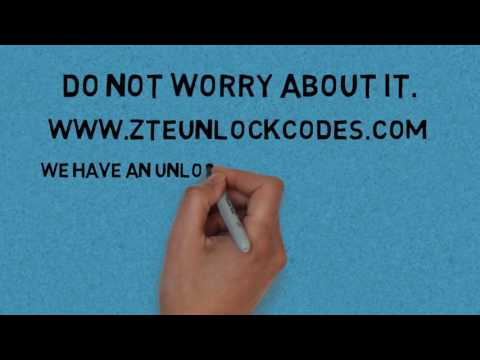 How to unlock ZTE GRAND X LTE T82 - ZTE unlock codes