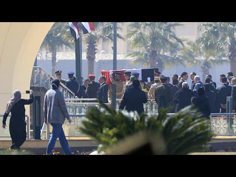 شاهد: السيسي يتقدم الجنازة العسكرية للرئيس المصري الأسبق حسني مبارك …  - نشر قبل 1 ساعة