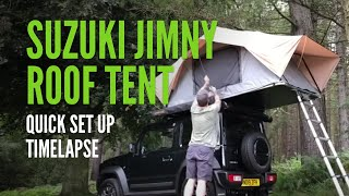 Suzuki Jimny Camping Set Up