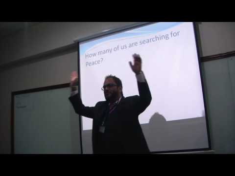 Who is responsible for World Peace? – Prof. Dr. Rajesh Arora, AUSN