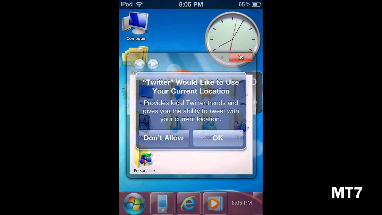 Download ios 6 theme / transformation pack for windows 7 / 8.