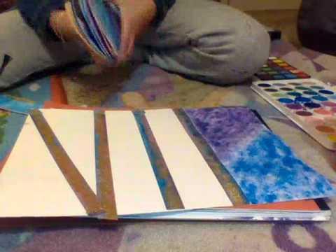 DIY Watercolor Bookmarks FT. FabFoxy679