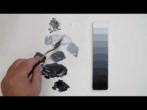 Painting Basics, Controlling Values For A Value Scale