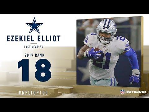 #18: Ezekiel Elliott (RB, Cowboys) | Top 100 Players of 2019 | NFL
