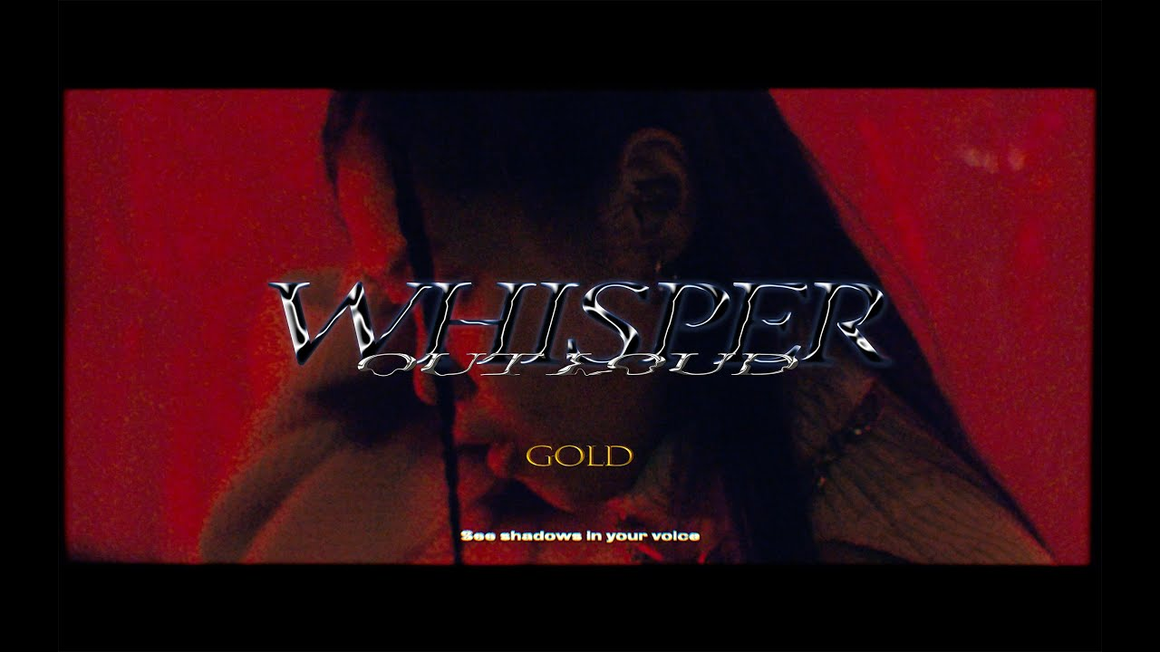 """NEW MV """"GOLD feat. REI from One Eye Closed"""" 公開!"""