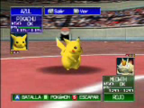 POKEMON STADIUM BATALLA LIBRE