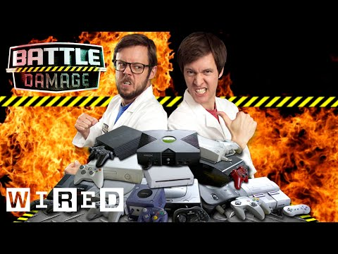 Video Game Console Wars   WIRED's Battle Damage