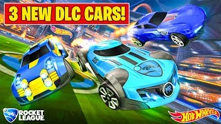 "NEW HOT WHEELS ""TRIPLE THREAT"" DLC COMING TO ROCKET LEAGUE!"