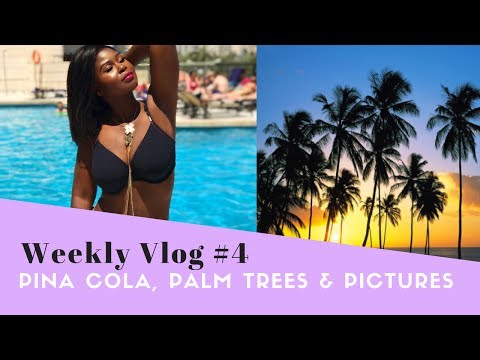 Pina Colada, Palm Trees, and Pictures |  Vlog #3 | theWANDEfullife