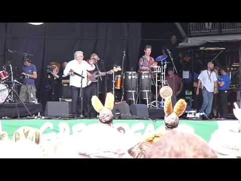 Rolf Harris Glastonbury Festival 2010 Stairway to Heaven Pyramid Stage