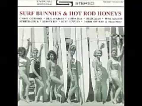 Various – Surf Bunnies & Hot Rod Honeys : 60's Girls Surf, Novelty, Pop , Rock & Roll Music Bands