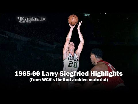 Larry Siegfried 1966 NBA Playoffs and Season Clips
