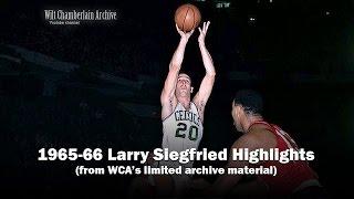 Larry Siegfried 1966 NBA Playoffs and Season Clips