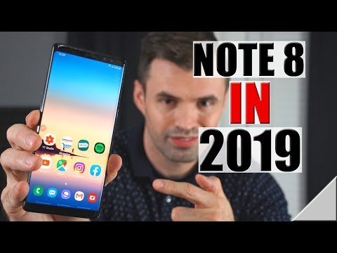 How is The  Samsung Galaxy Note 8 in 2019?