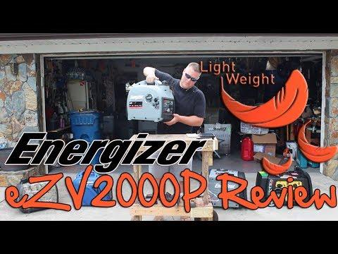 Review: Energizer eZV2000P Portable Inverter Generator, Parallel Capable, Lightest Generator Tested