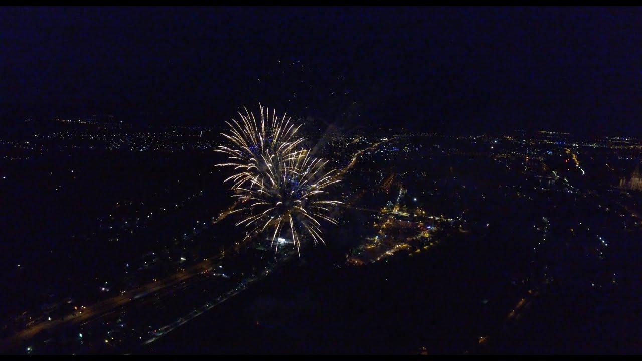 Dult Feuerwerk Regensburg