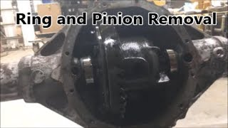Chevy 12 bolt Ring and Pinion Removal