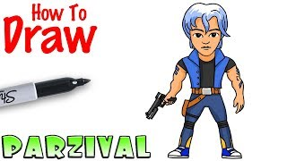 How to Draw Parzival | Ready Player One