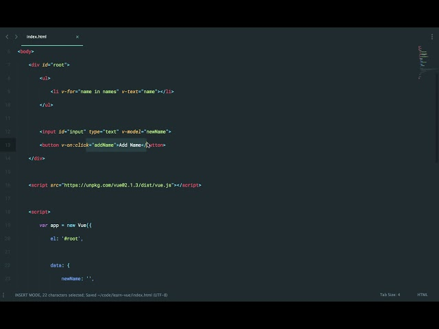 Learn Vue 2: Part 4 - Vue Event Listeners